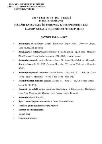 Informare DTU.pdf - Primăria Municipiului Piteşti