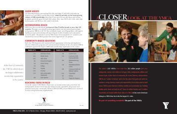 ACLOSERLOOK AT THE YMCA - YMCA of Greater Houston