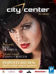 POPUSTI DO 50 % - Citycenter Celje