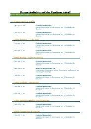 Unsere Auftritte auf der Equitana 2009!!! - Ferienhof Biesenbach