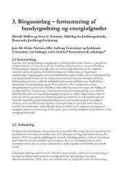 3. Biogasanlæg – fermentering af husdyrgødning og ... - okoforsk