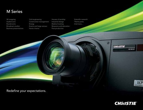 M Series Brochure - Christie Digital Systems