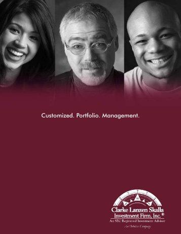 IAM Brochure Design 2 - CLS Investments, LLC