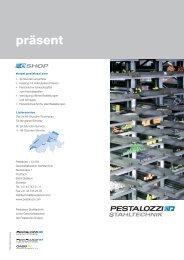 Image Broschüre Pestalozzi Stahltechnik