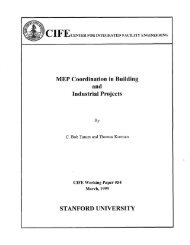 MEP Coordination in Building and Industrial Projects - Center for ...
