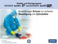 Präsentation SpillKit XP - BERNER International GmbH