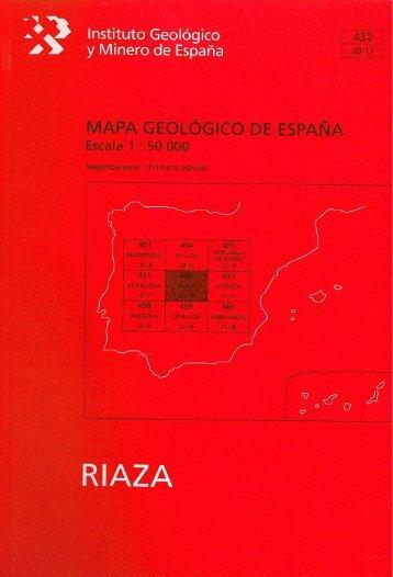 Riaza. - Instituto Geológico y Minero de España
