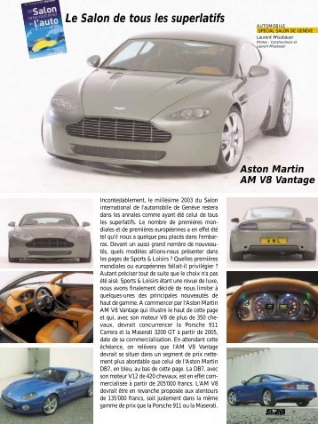 Genève 2003 - Magazine Sports et Loisirs