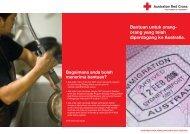 Bantuan untuk orang - Australian Red Cross