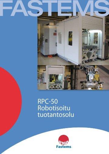 RPC-50 Robotisoitu tuotantosolu - Fastems