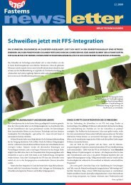 Schweißen jetzt mit FFS-Integration - Fastems