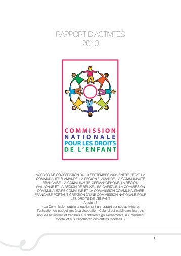 Rapport d'activités 2010 - The National Commission on the Rights of ...