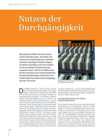 Siemens Advanced.pdf - FRIMA GmbH & Co Kg