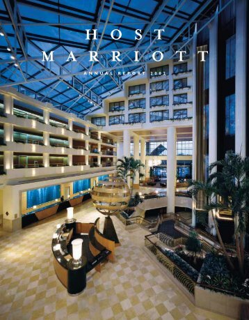 2002 Annual Report - Host Hotels & Resorts, Inc