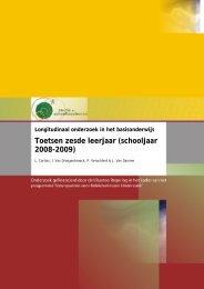 (2010) , Longitudinaal onderzoek in het