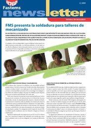 FMS presenta la soldadura para talleres de mecanizado - Fastems