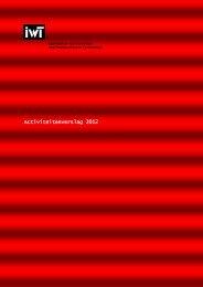 IWT jaarverslag 2012