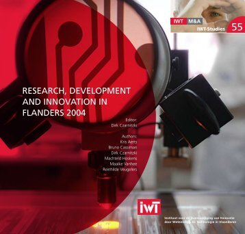 research, development and innovation in flanders 2004 - IWT