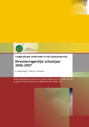 Directievragenlijst 2006-2007 SSL/OD1/2009.16, Leuven