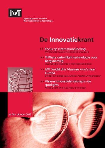 Innovatiekrant 24 - IWT
