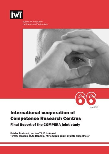 International cooperation of Competence Research Centres - IWT