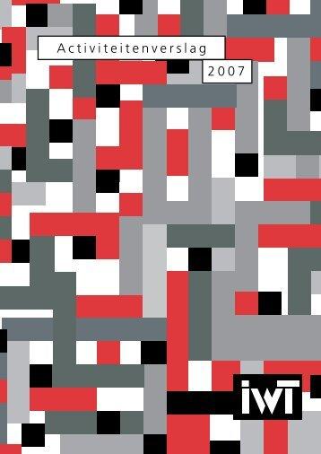 Jaarverslag 2007 - IWT