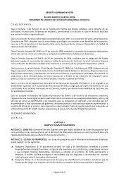 DECRETO SUPREMO Nº 0734 - Dirección General de Migración