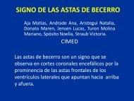 SIGNO DE LAS ASTAS DE BECERRO - Congreso SORDIC