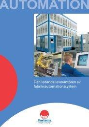 Den ledande leverantören av fabriksautomationssystem - Fastems