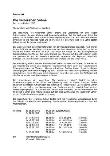 Die verlorenen Söhne - destination-desktop.de