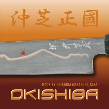 OKISHIBA Messer Katalog - Kochmesser.de