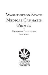 Washington State Medical Cannabis Primer screen