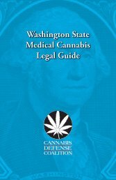 Washington State Medical Cannabis Legal Guide - Grays Harbor ...