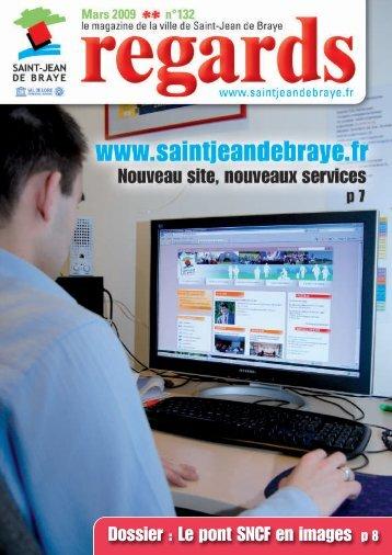 """Regards"" mars 2009 (pdf - 2,06 Mo) - Ville de Saint Jean de Braye"