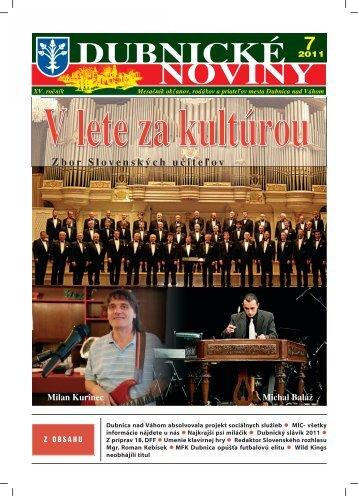 DUBNICKÉ NOVINY 7 - Dubnica nad Váhom