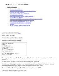 Household Monitor Survey - LIS