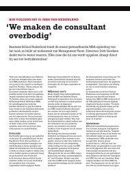 Lees het hele artikel (PDF) - Business School Netherlands