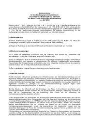 Studienordnung für den Studiengang Inform atik-Diplom am ...