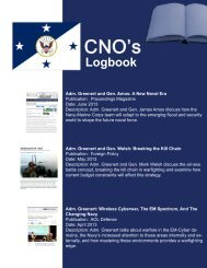 Log Book - U.S. Navy