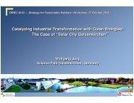 Solar City Gelsenkirchen - Delhi International Renewable Energy ...
