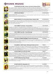 6 AUSTRALES ECLIPSE - Nuevas canciones de ... - Fenn Music