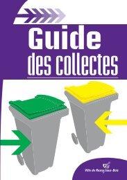 Déchets acceptés - Site officiel de la ville de Rosny-sous-Bois