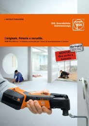 catalogo fein multimaster - C. & E. FEIN Gmbh