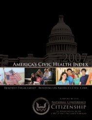2007 - Civic Enterprises