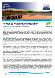 Access to wastewater reticulation - Rotorua District Council