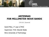 antennas for millimeter-wave bands