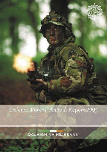 Dept of Defence & Defence Forces Annual Report 2004
