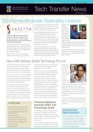 Tech Transfer News - May 2013 - Office of Industry and Innovation