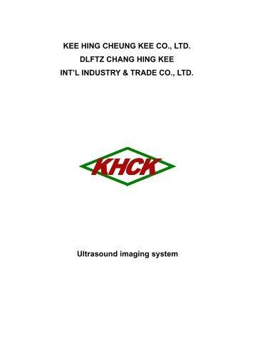 KEE HING CHEUNG KEE CO., LTD. DLFTZ CHANG HING KEE INT ...