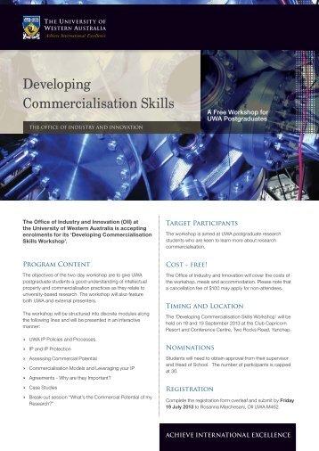 PhD Retreat 2013 - Information & Registration - Office of Industry ...